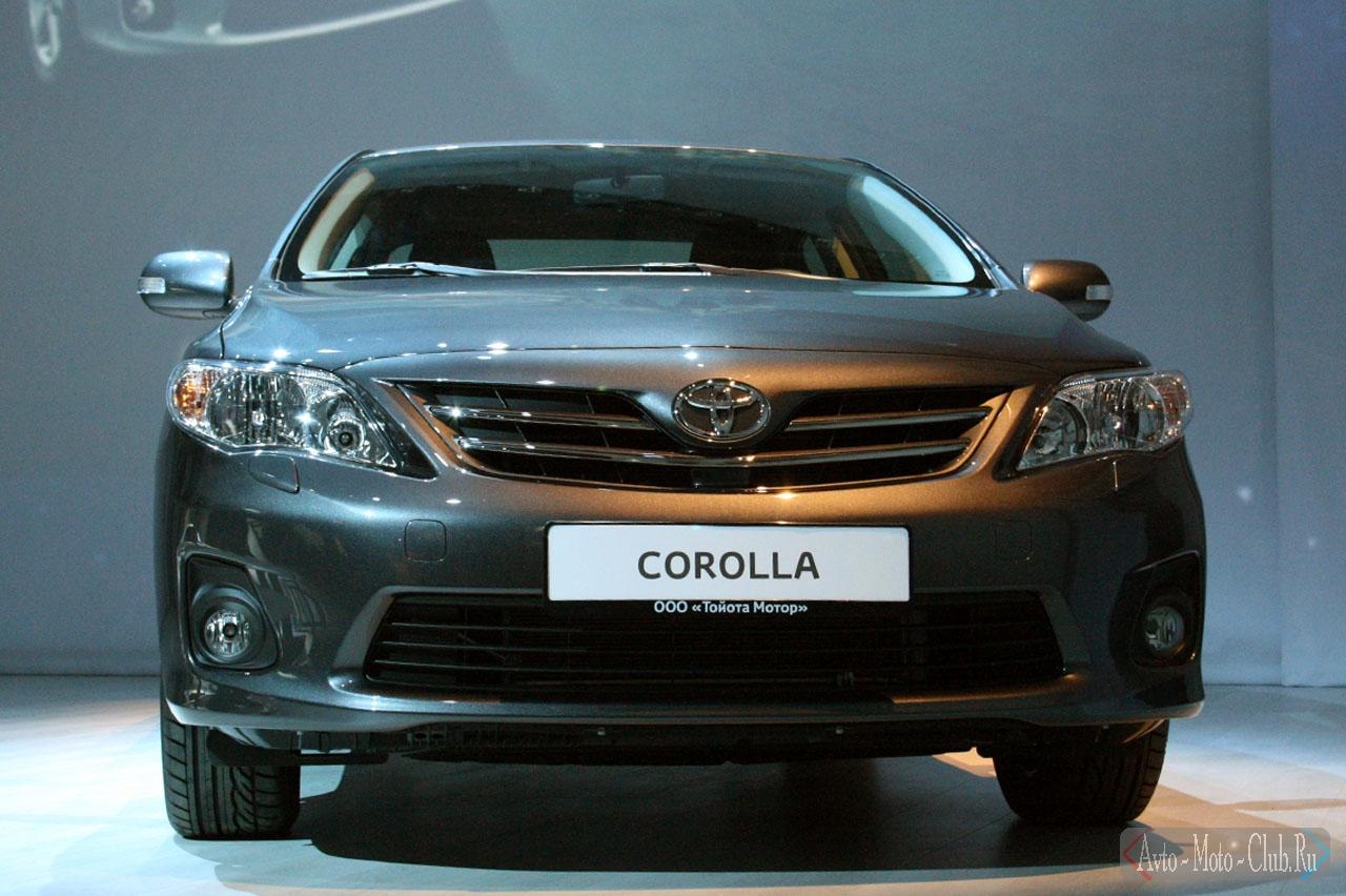 Тойота королла 2010 фото