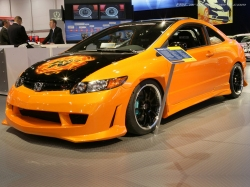 Honda Civic SI tuning - фото